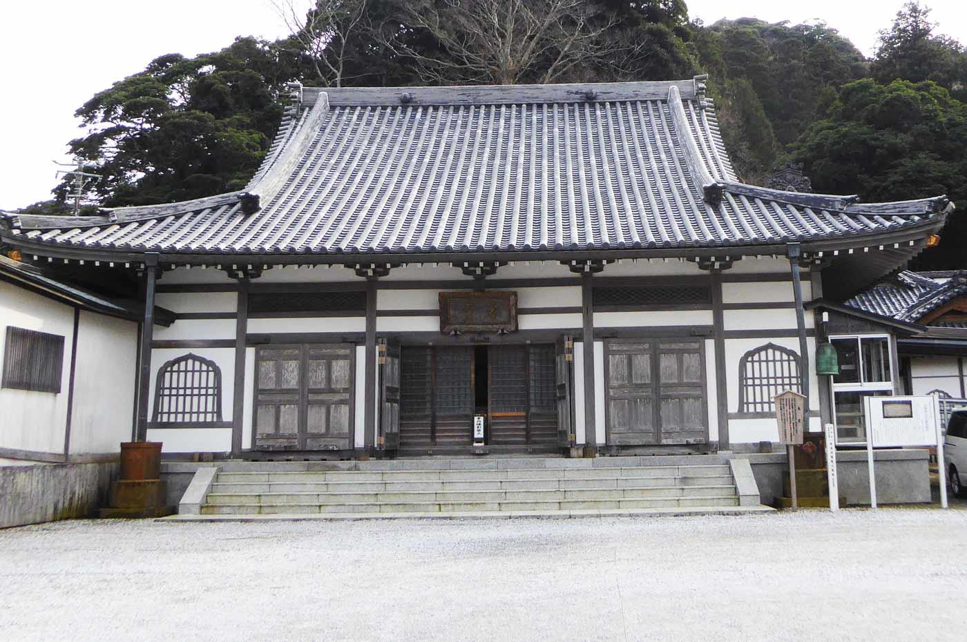 誕生寺本堂の画像