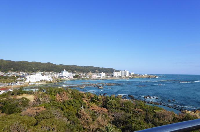 野島崎灯台からの眺望 東側