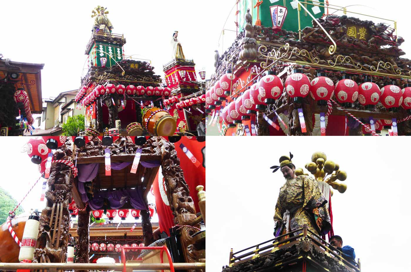 那古寺の祭礼 東藤の山車