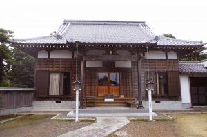 東仙寺の本堂