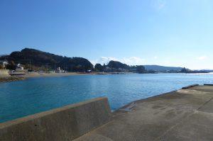 豊岡海水浴場の風景