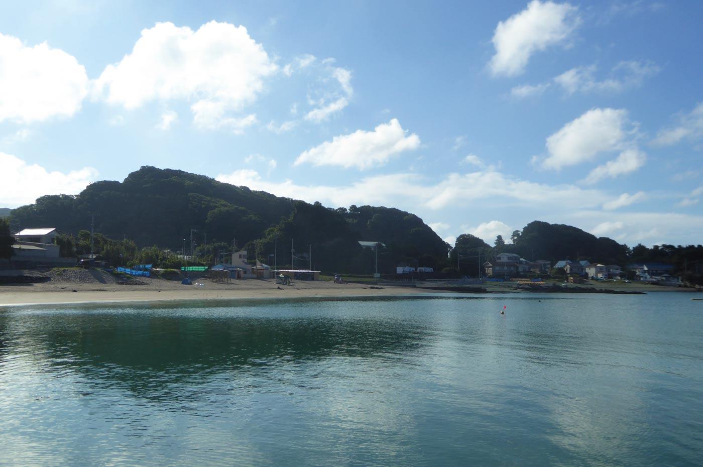 豊岡海水浴場の全景画像