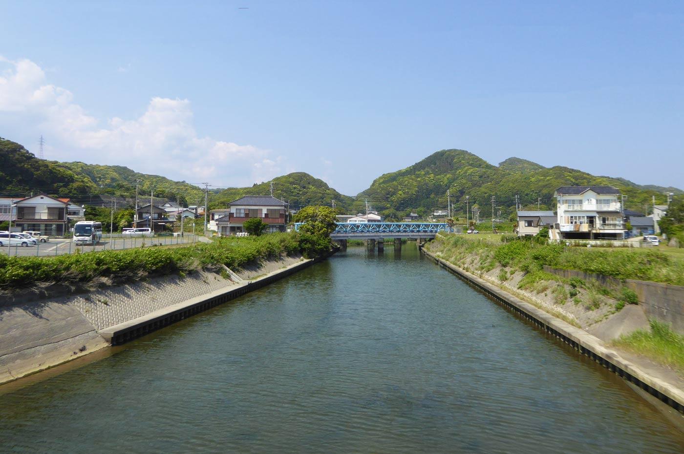 大風沢川の画像