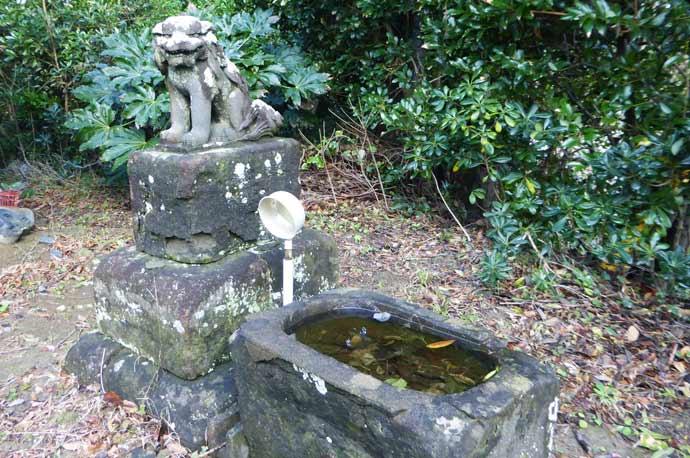 山の神神社狛犬(右)の画像