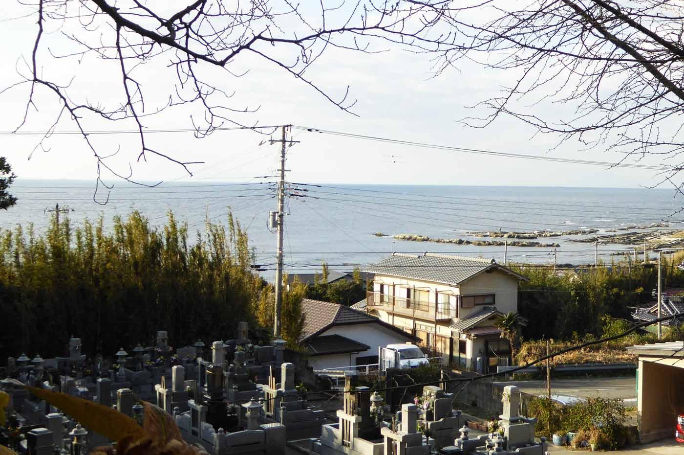 観音寺からの眺め