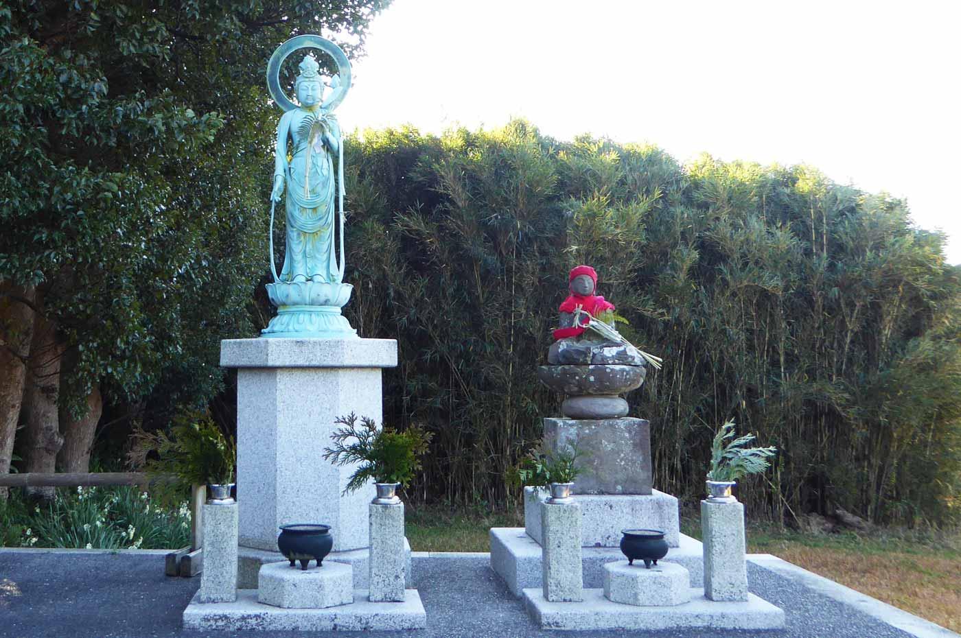 善栄寺の全景画像