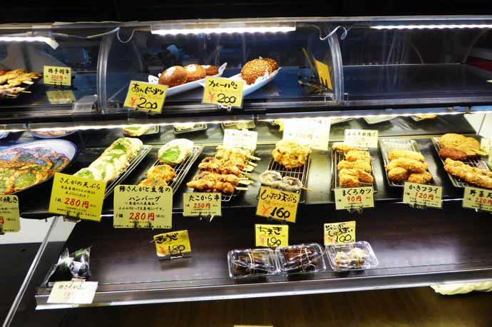 青倉商店の惣菜の画像