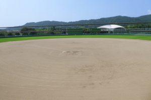 鴨川総合運動施設のソフトボール場