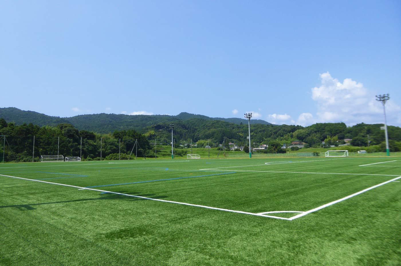 鴨川総合運動施設のサッカー場