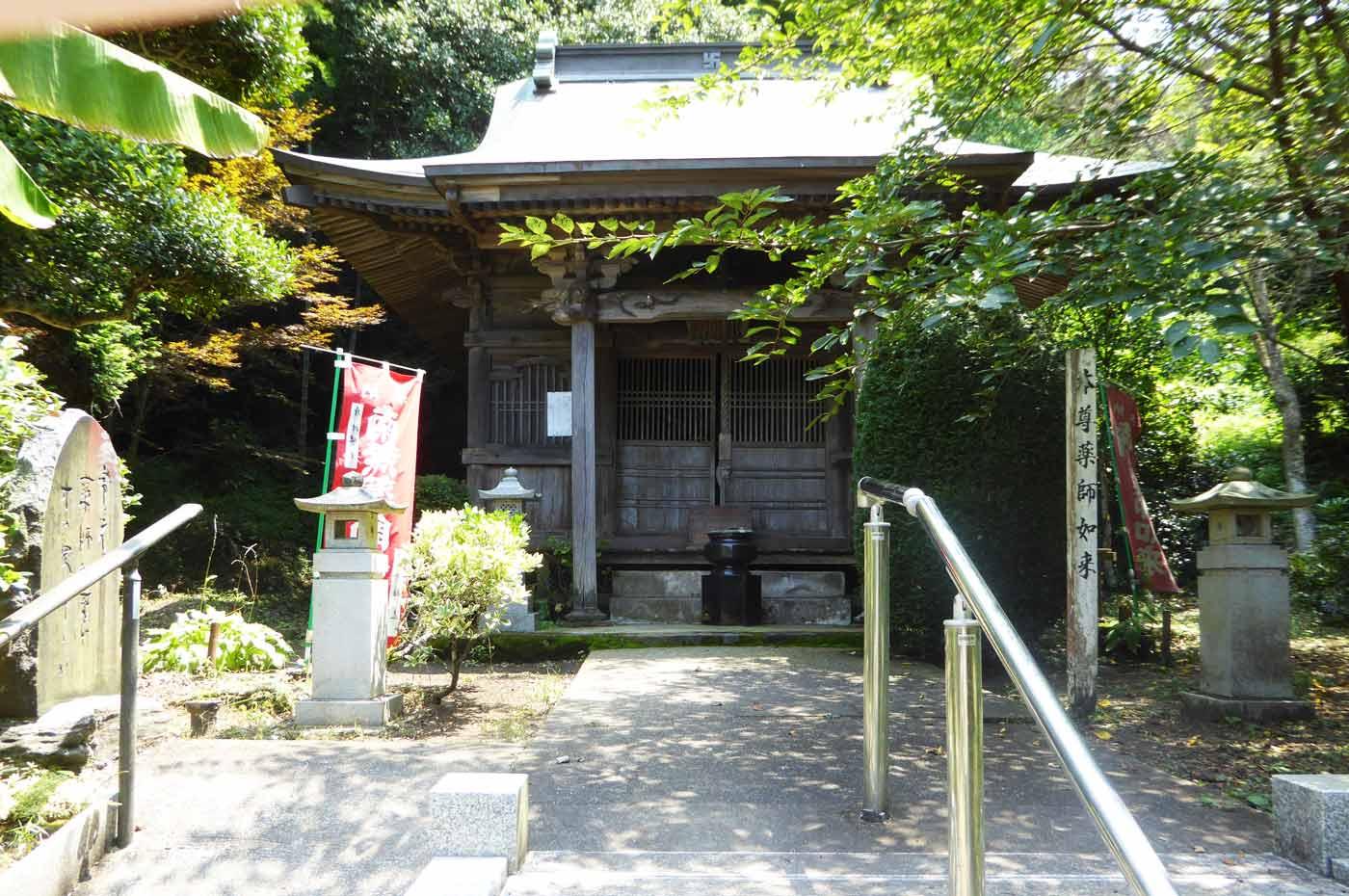 常光寺の薬師堂