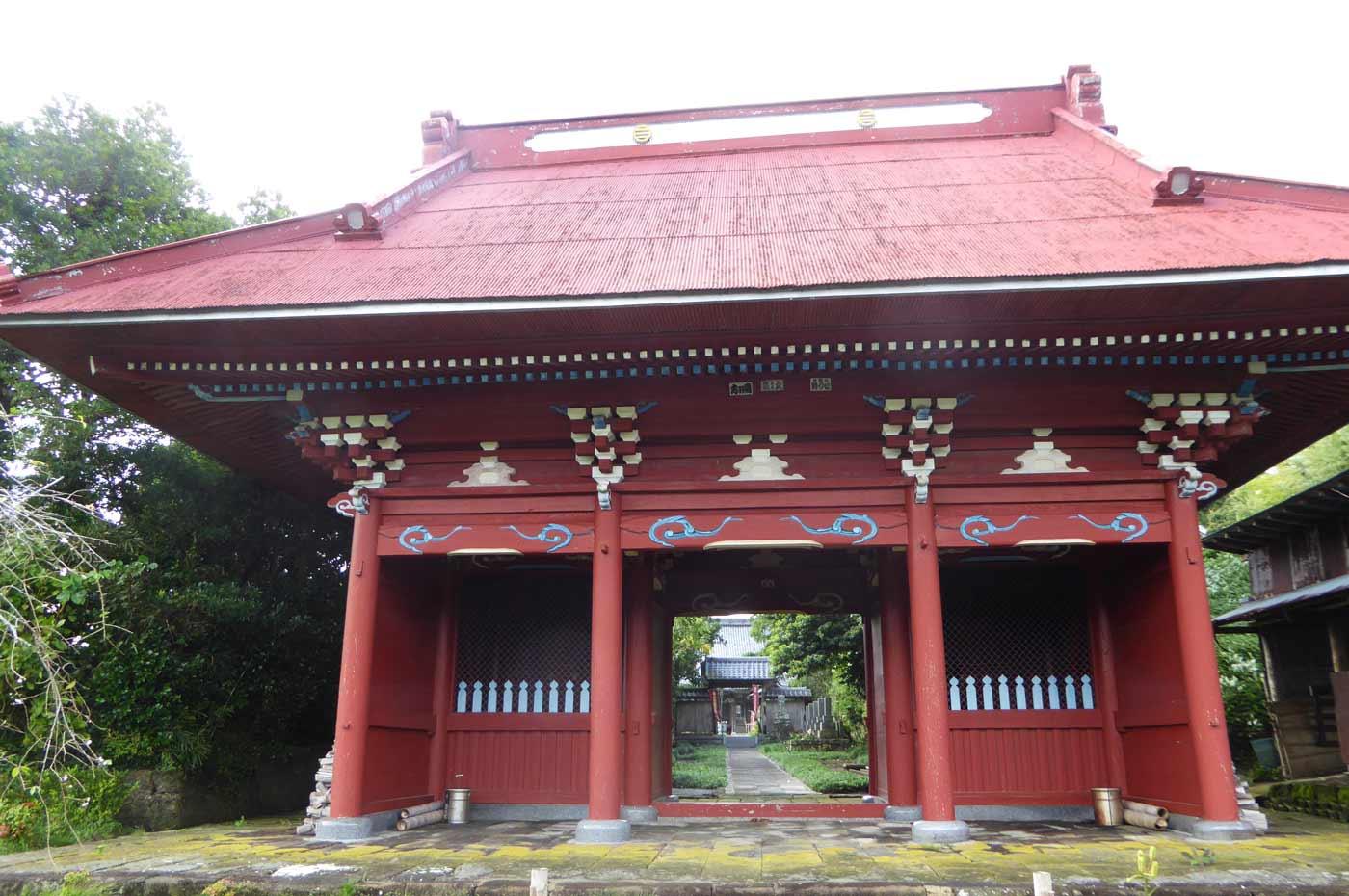 正文寺の仁王門
