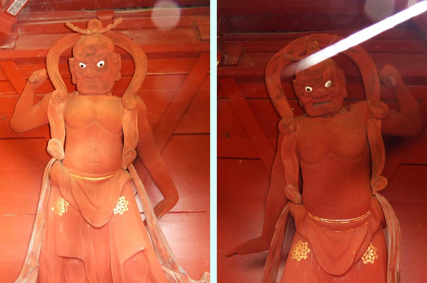 正文寺の仁王像