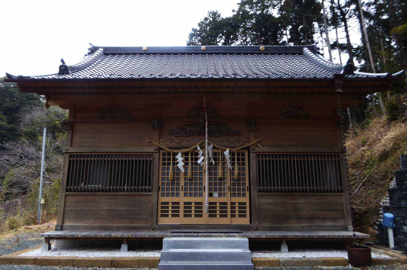 山神社拝殿の画像