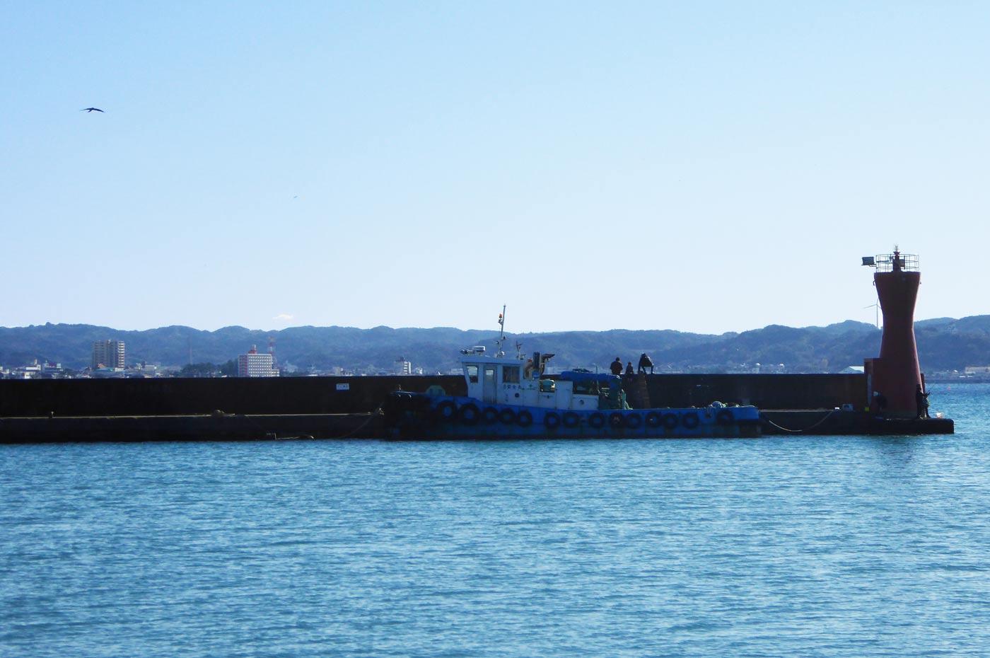 船形港 赤灯台のポイント