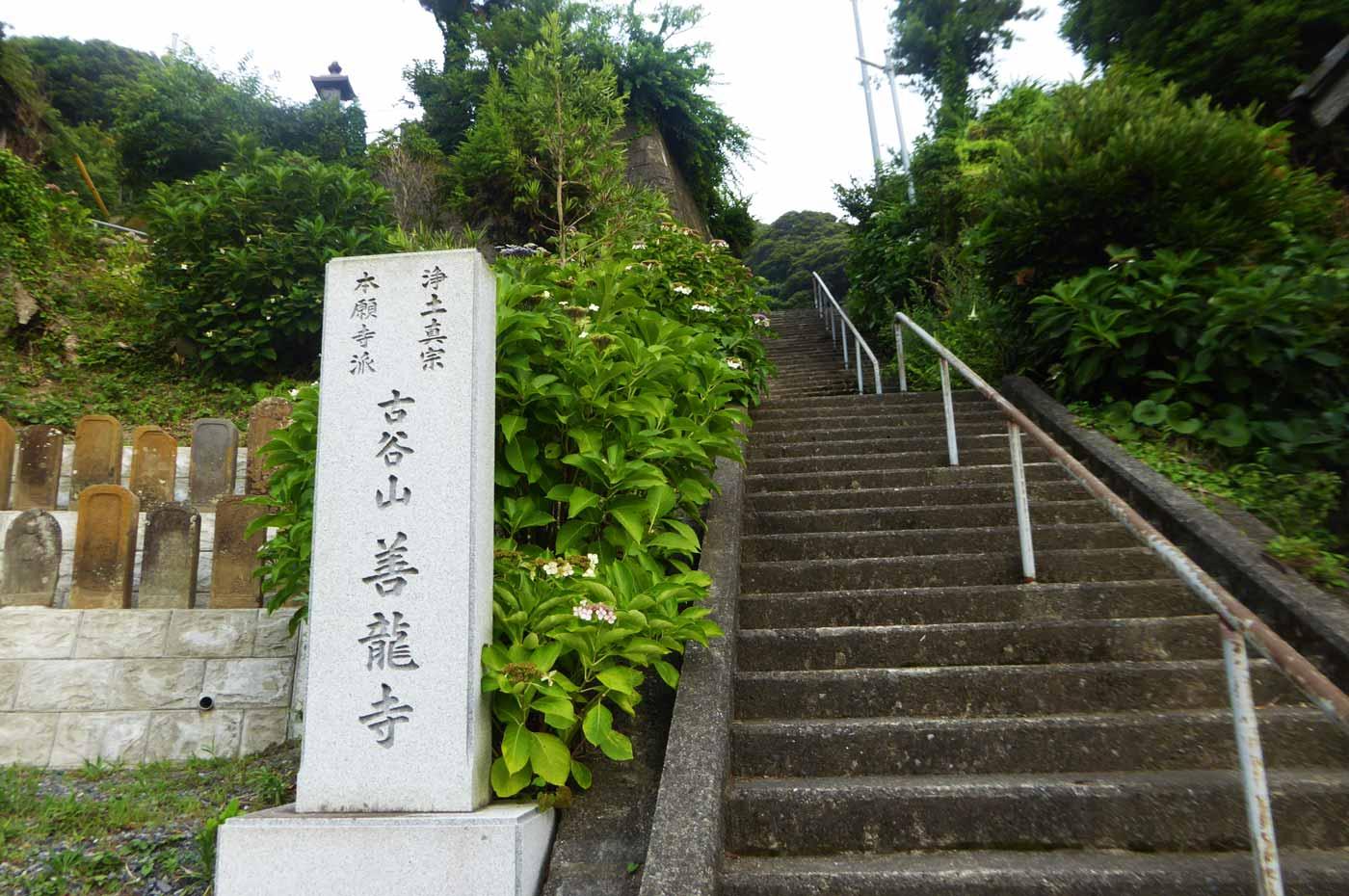 善龍寺の入口