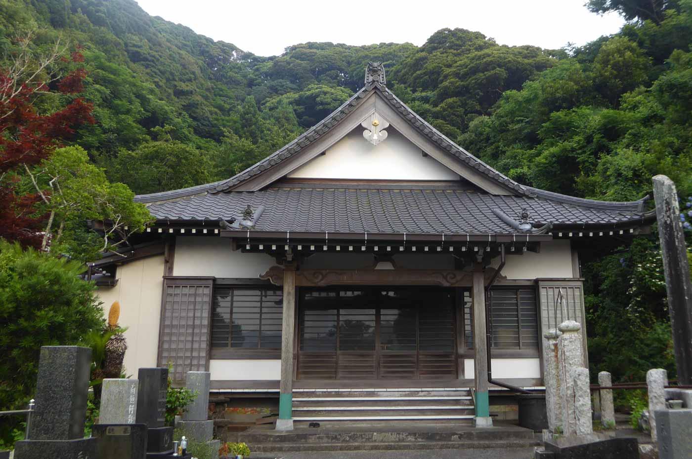 善龍寺本堂のアップ画像