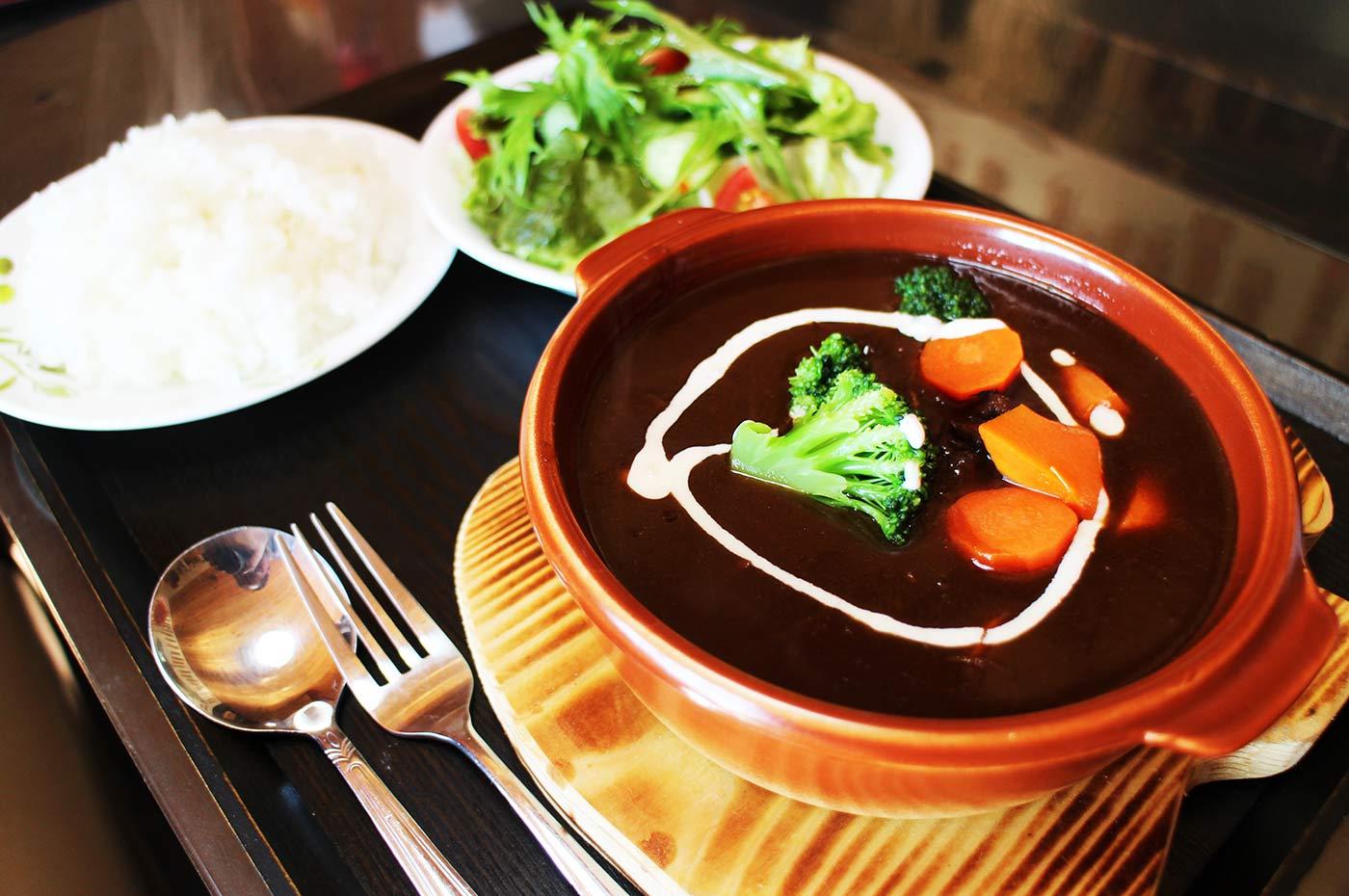 牛タン蔵 ビーフシチュー定食の画像