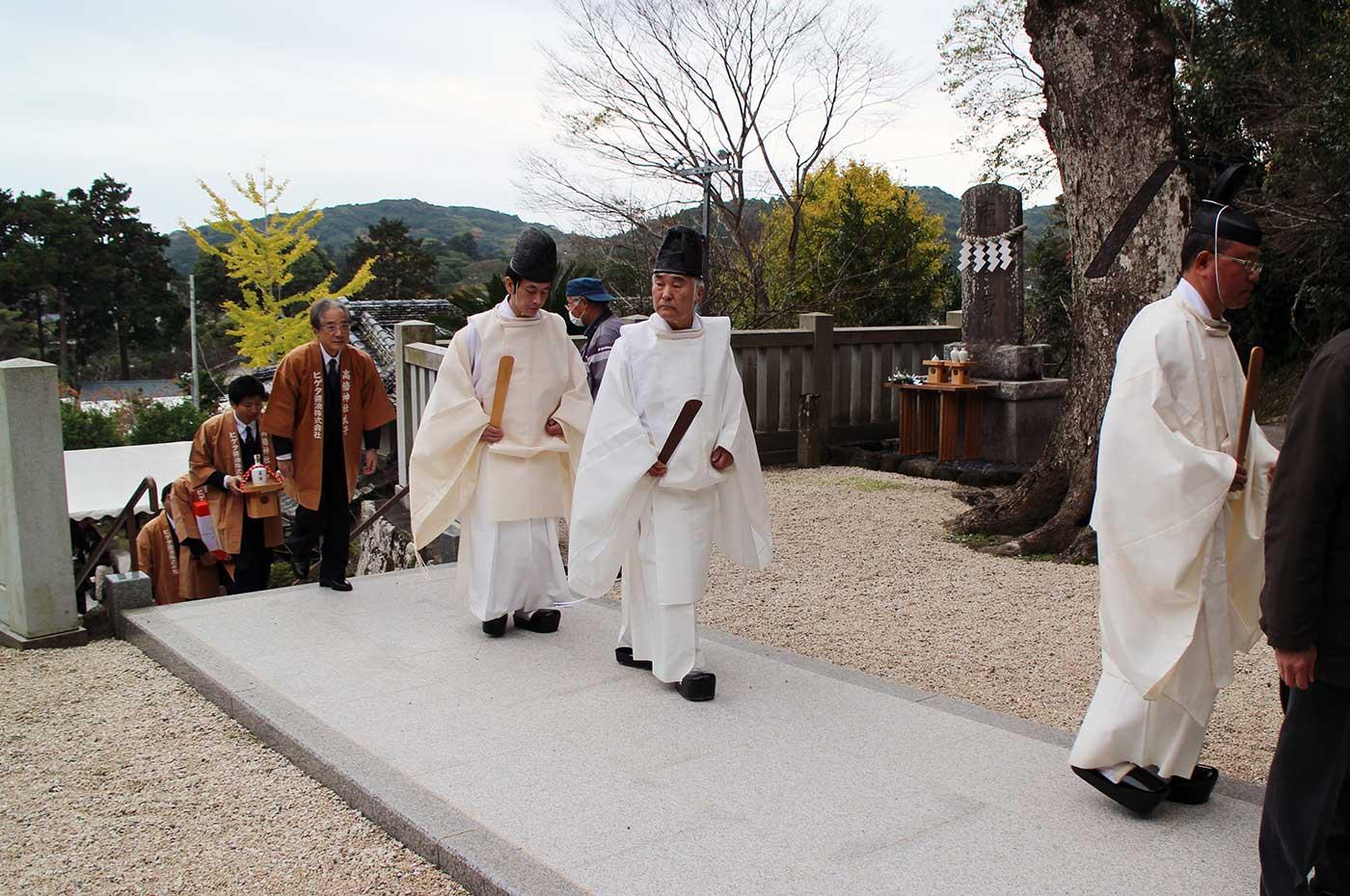 高家神社の神主