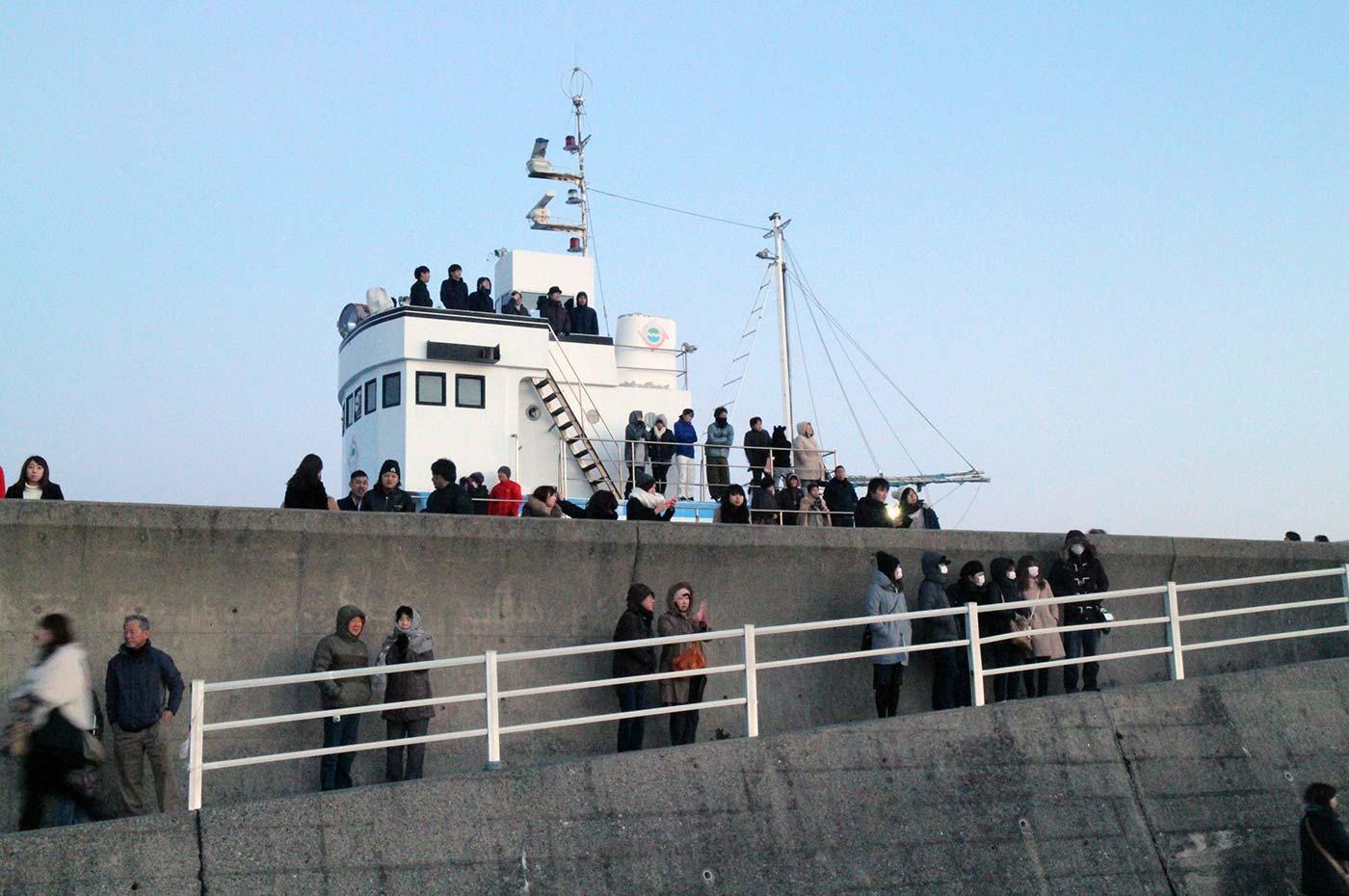 千倉 潮風王国 船 海岸へのスロープ