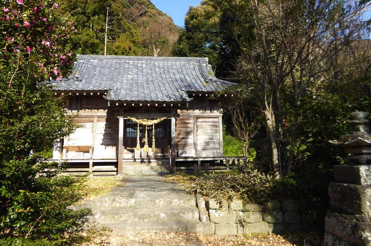 八雲神社拝殿の画像