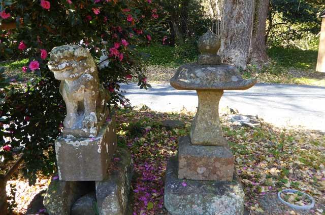 八雲神社狛犬の画像(左側)