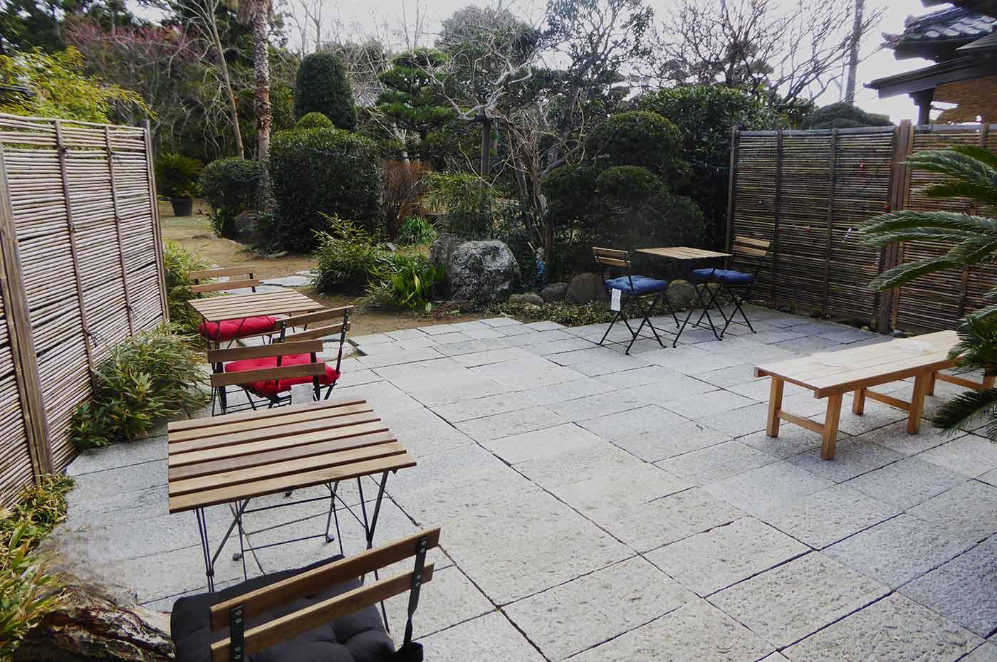 一二三養蜂園 オープンカフェの画像