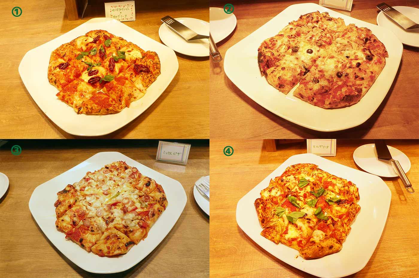 とまとの森のピザ