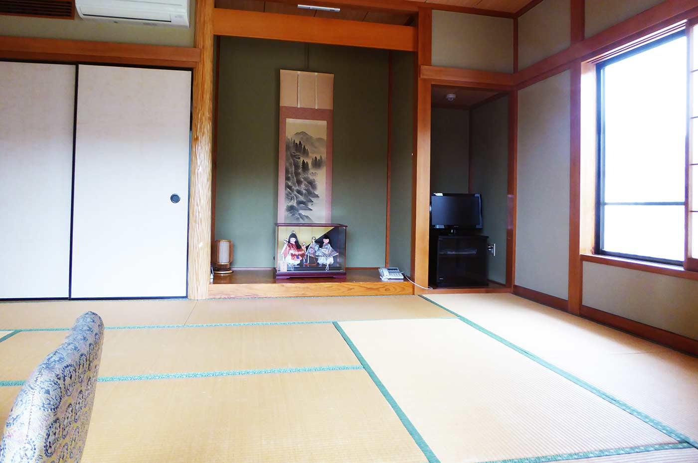 福喜庵の宿泊部屋