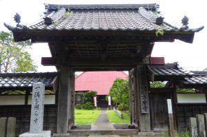 方廣寺の山門の画像