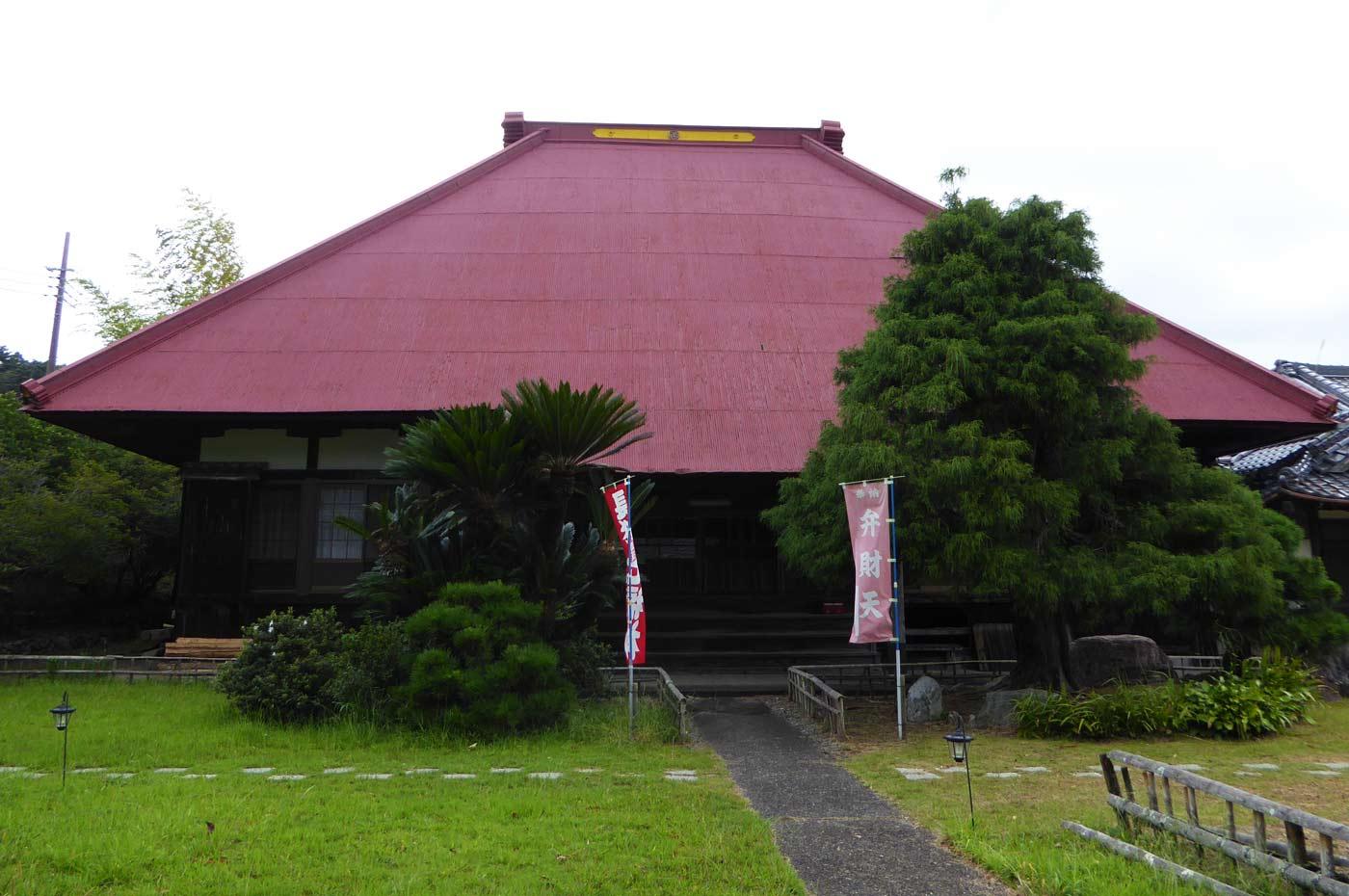 方廣寺の本堂の画像