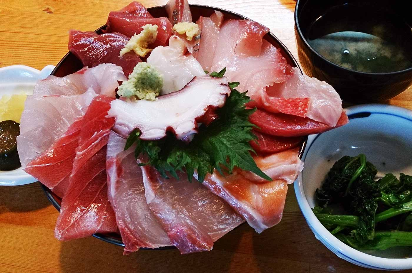 福喜庵名物 海鮮丼