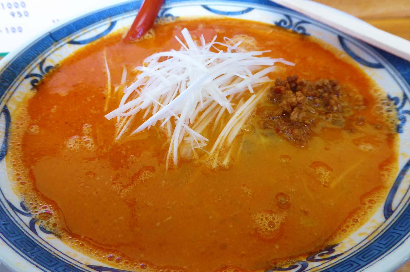 ラーメンやまきの担々麺の画像
