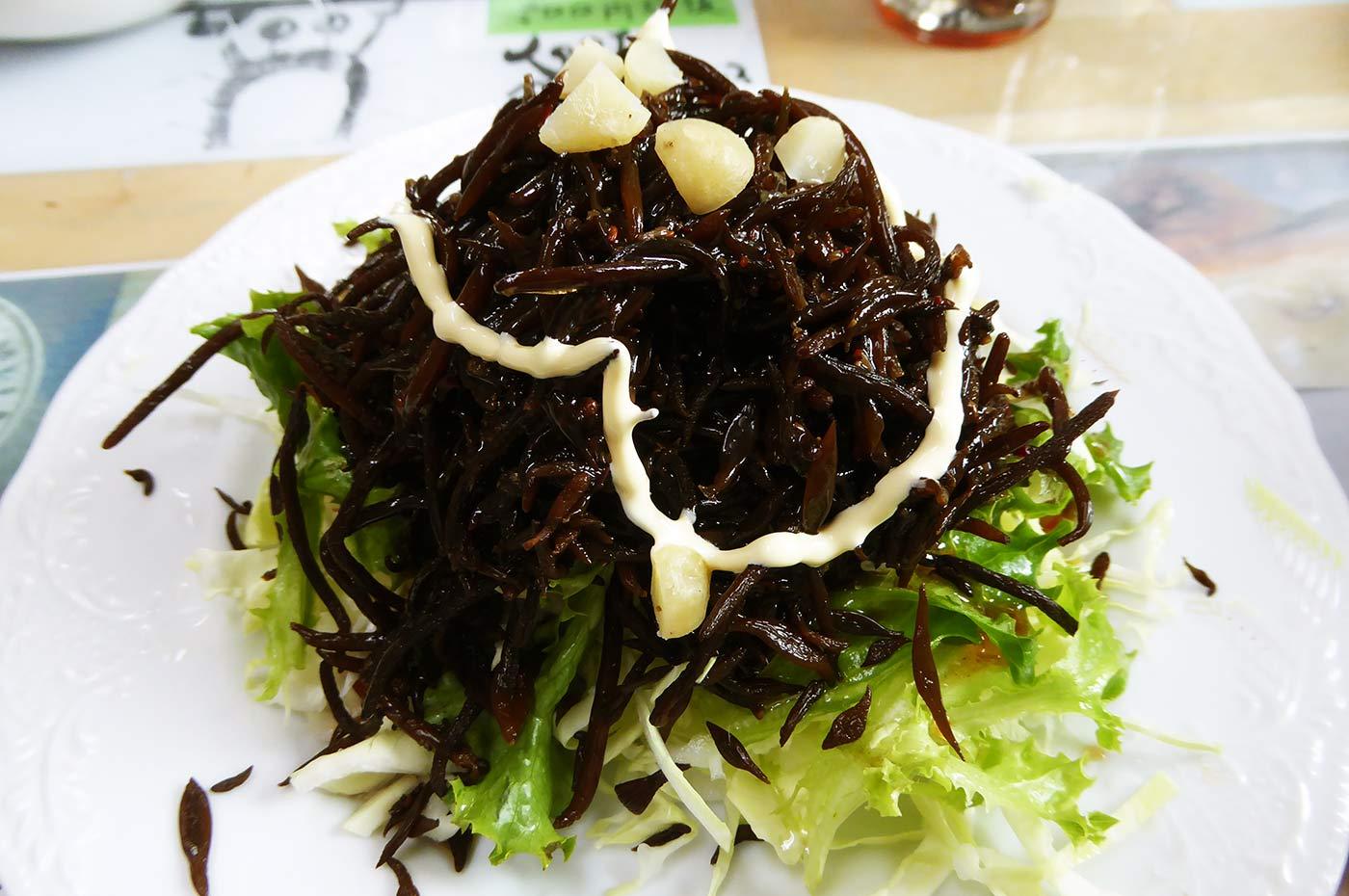房州ラーメン ひじきサラダの画像