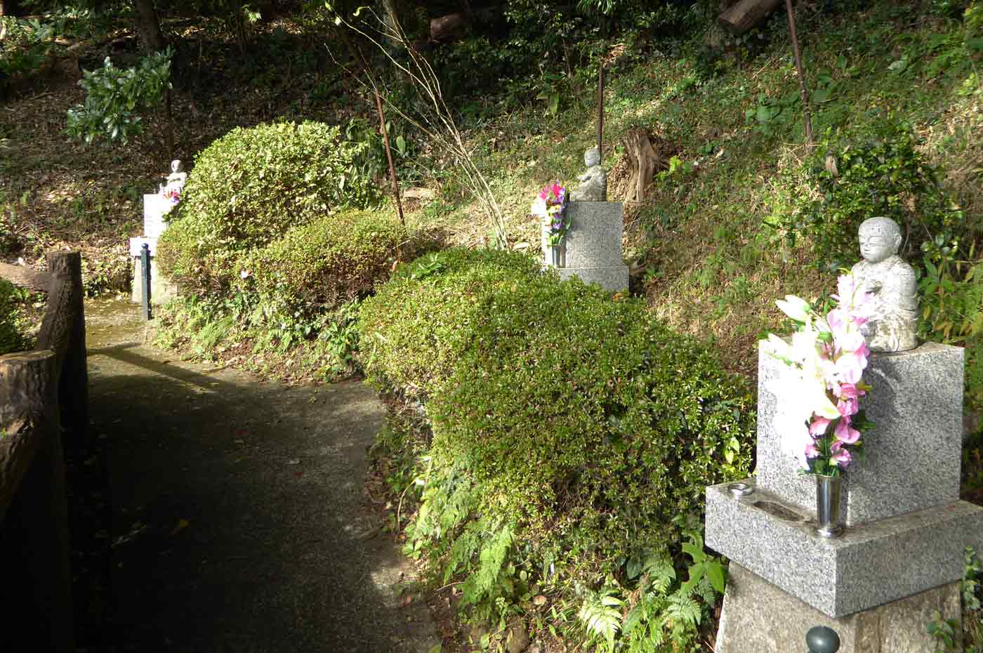 真野寺の新四国八十八ヶ所霊場の写真