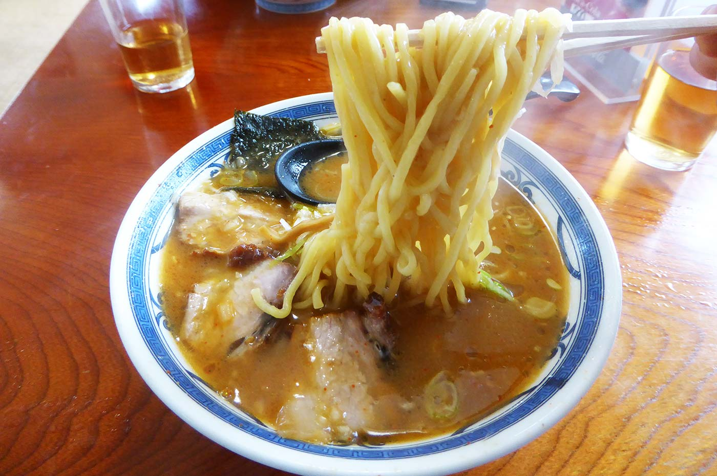ラーメンやまきの味噌チャーシュー麺の画像