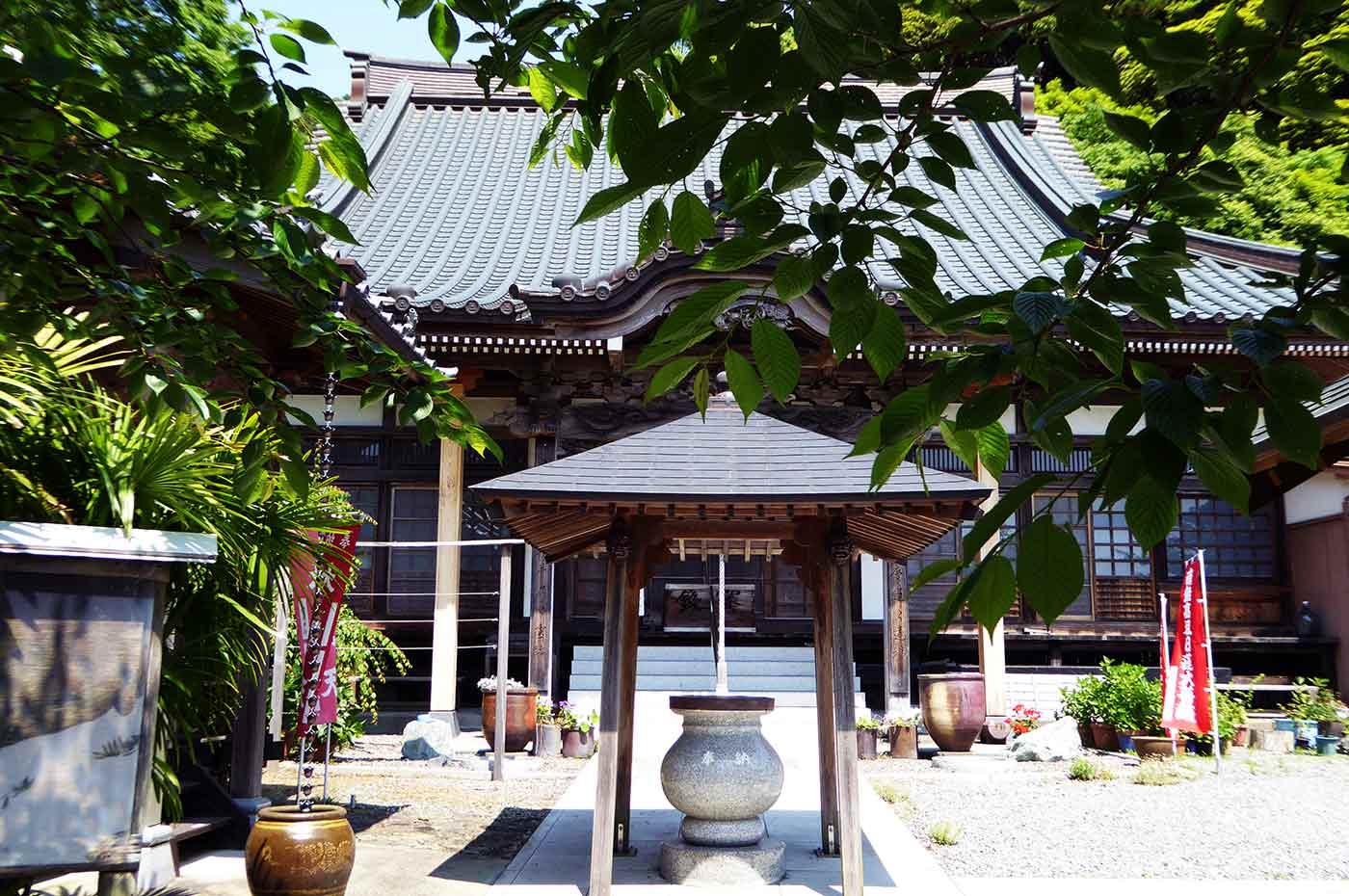 日運寺の本堂の画像