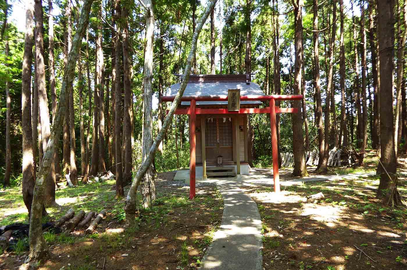加茂神社の奥の院