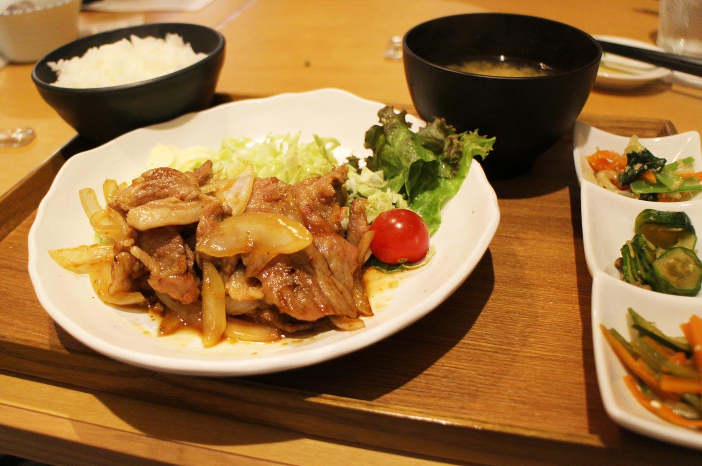 ICHIEMONの焼肉定食