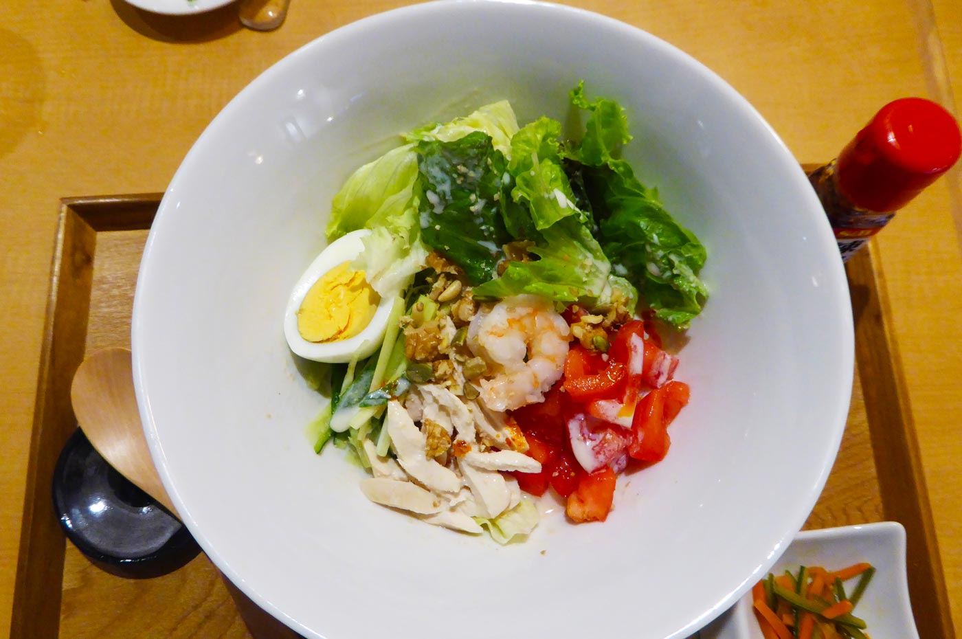 ICHIEMONの豆乳仕立てのサラダ米麺