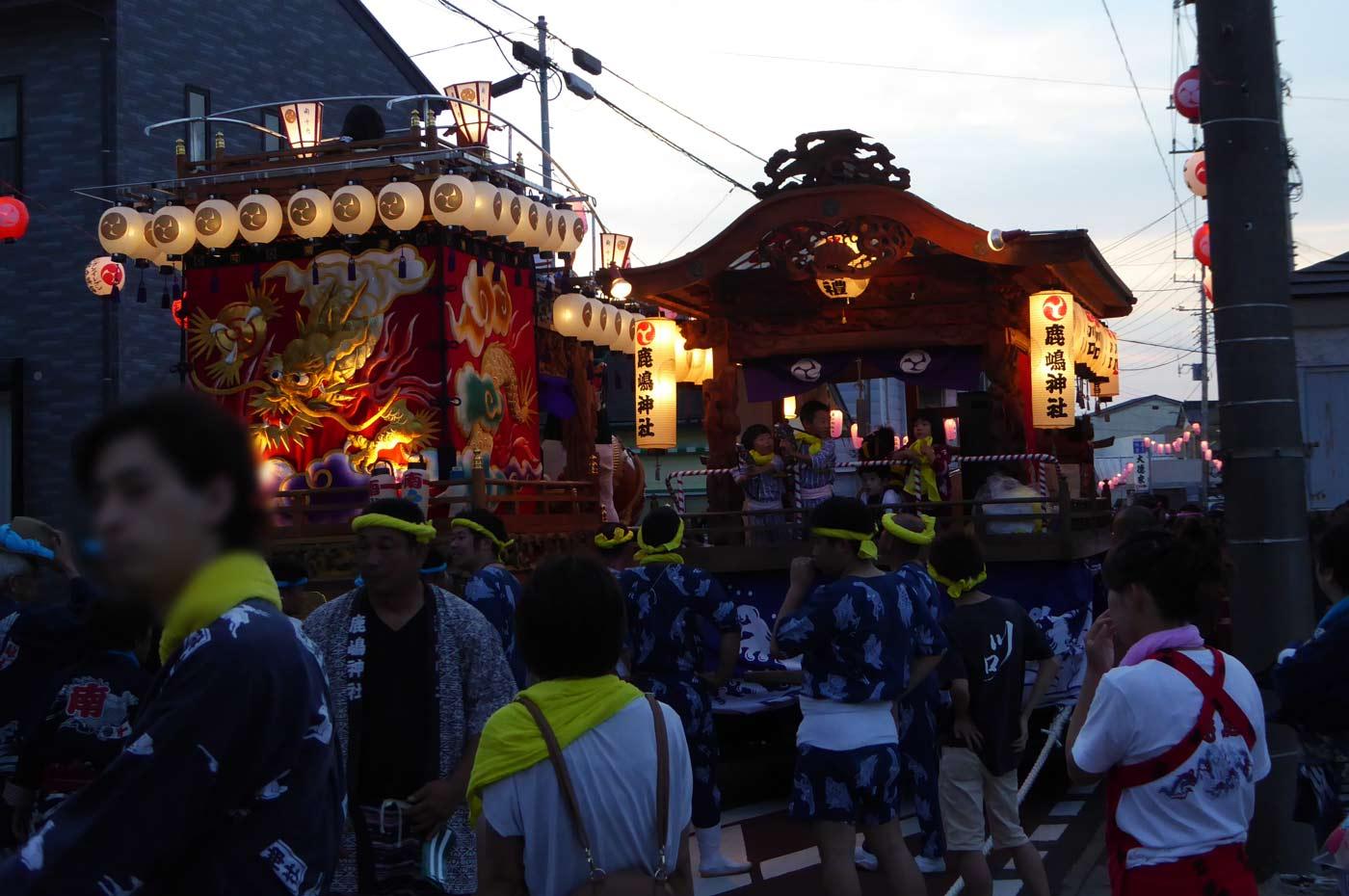 川口区 鹿嶋神社の屋台