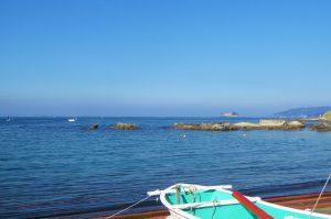 ボート釣りの風景