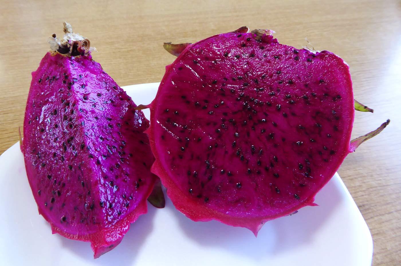 ドラゴンフルーツの果実の写真