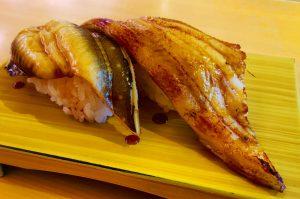 炙りアナゴ寿司の画像