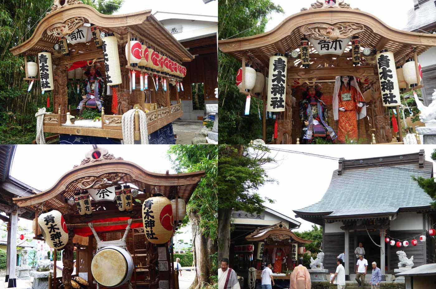 青木区 青木神社の屋台