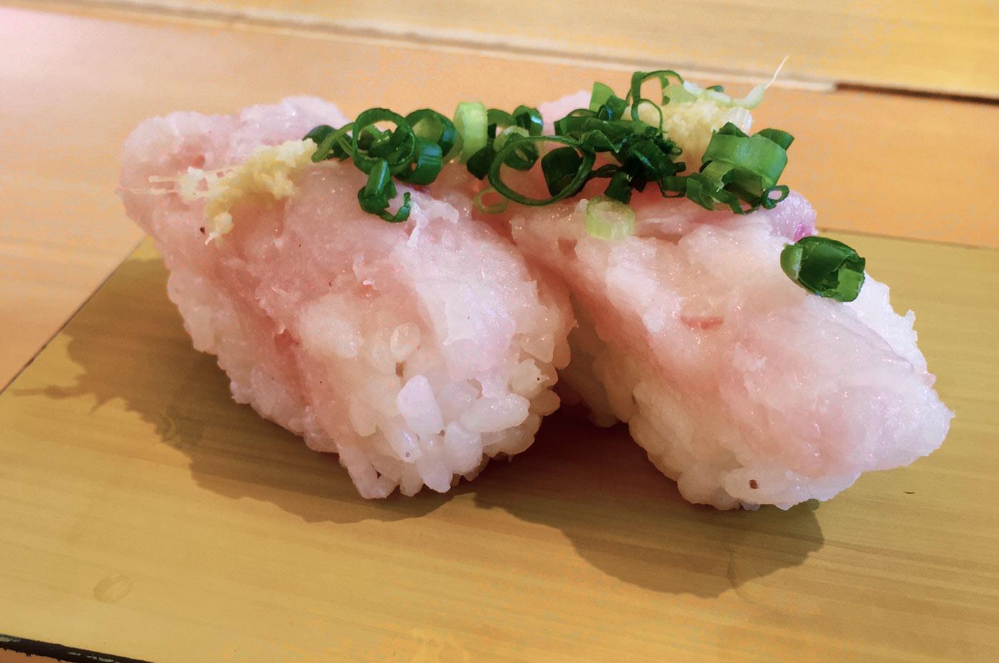 エンザラの握り寿司