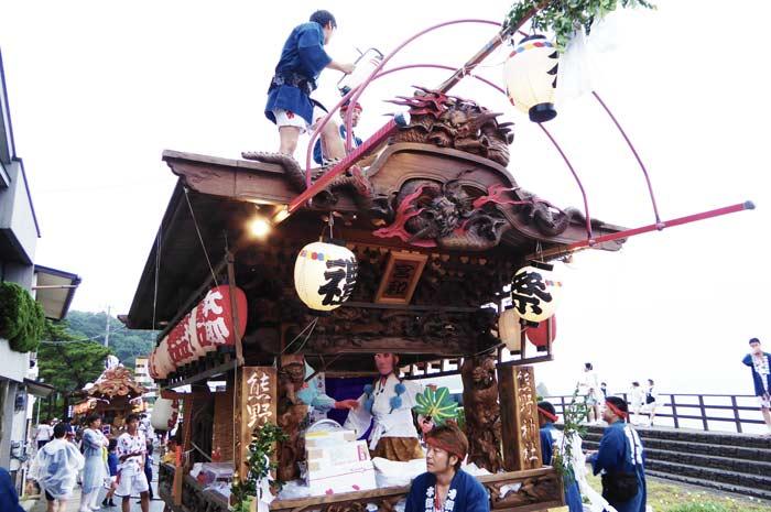田町の屋台