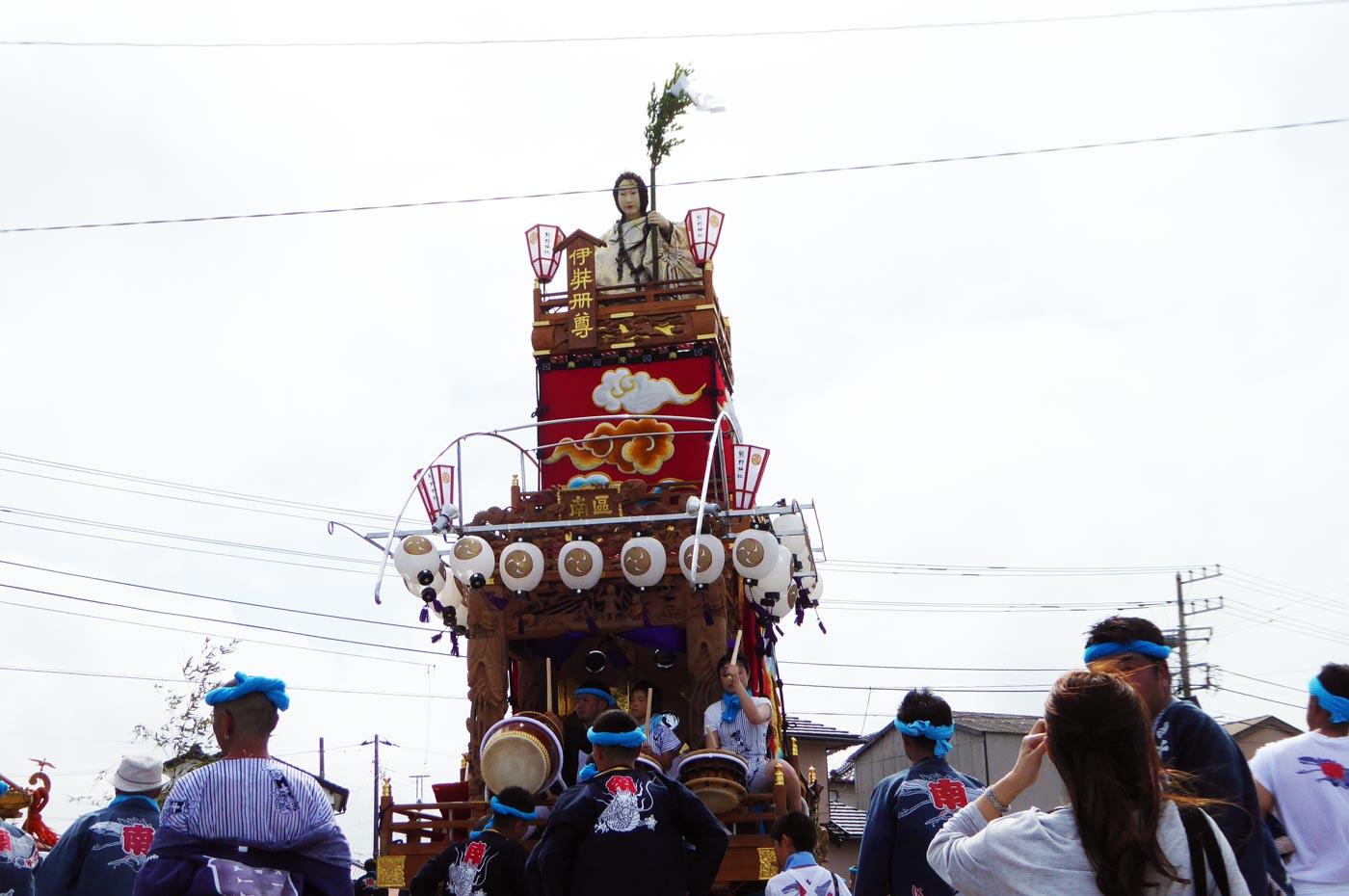 南千倉地区の山車