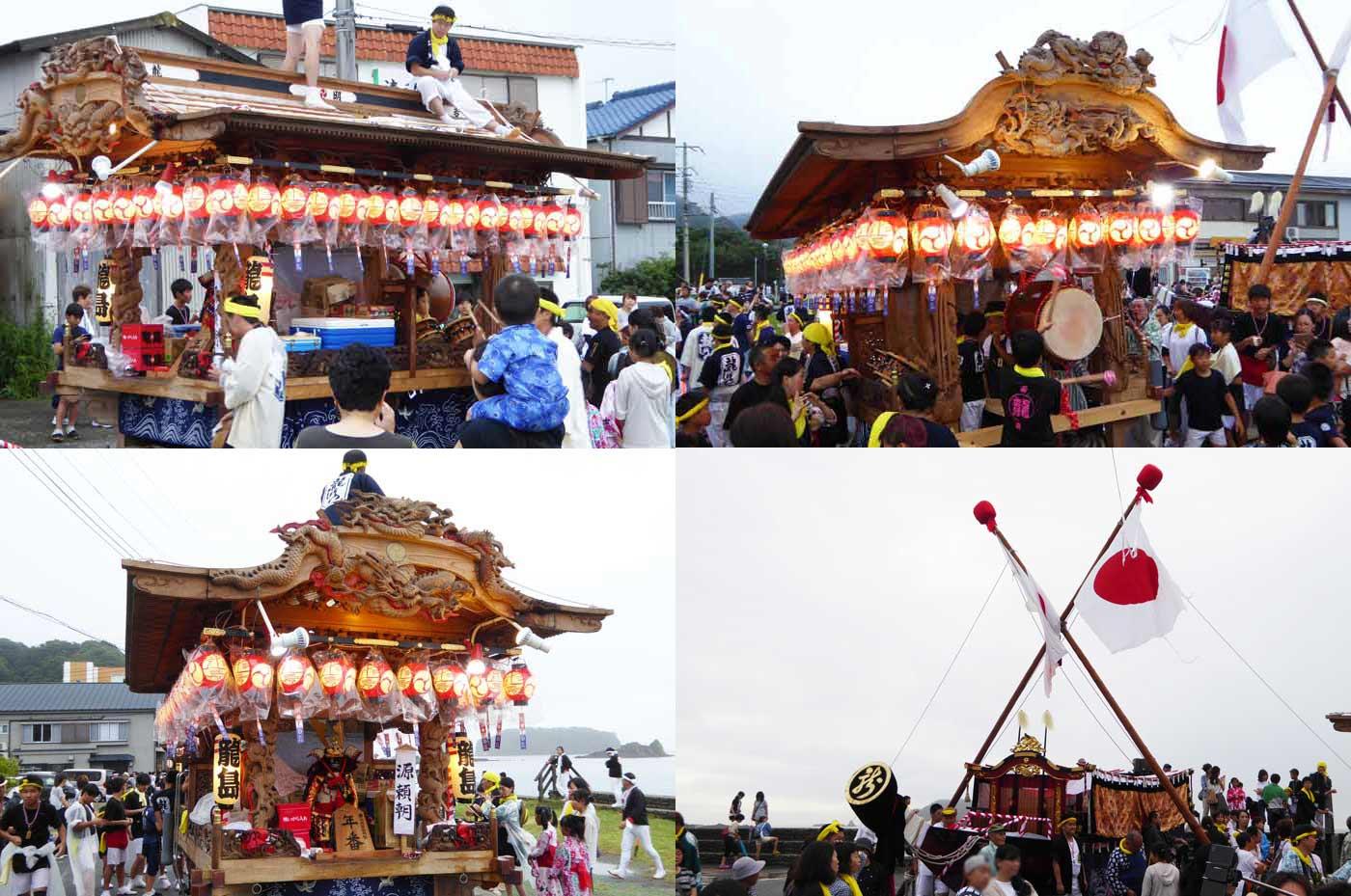 加知山神社の神輿