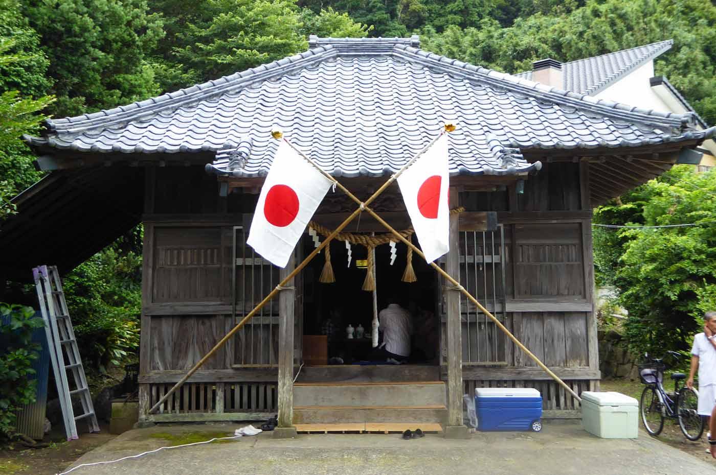 神明神社 多田良北浜
