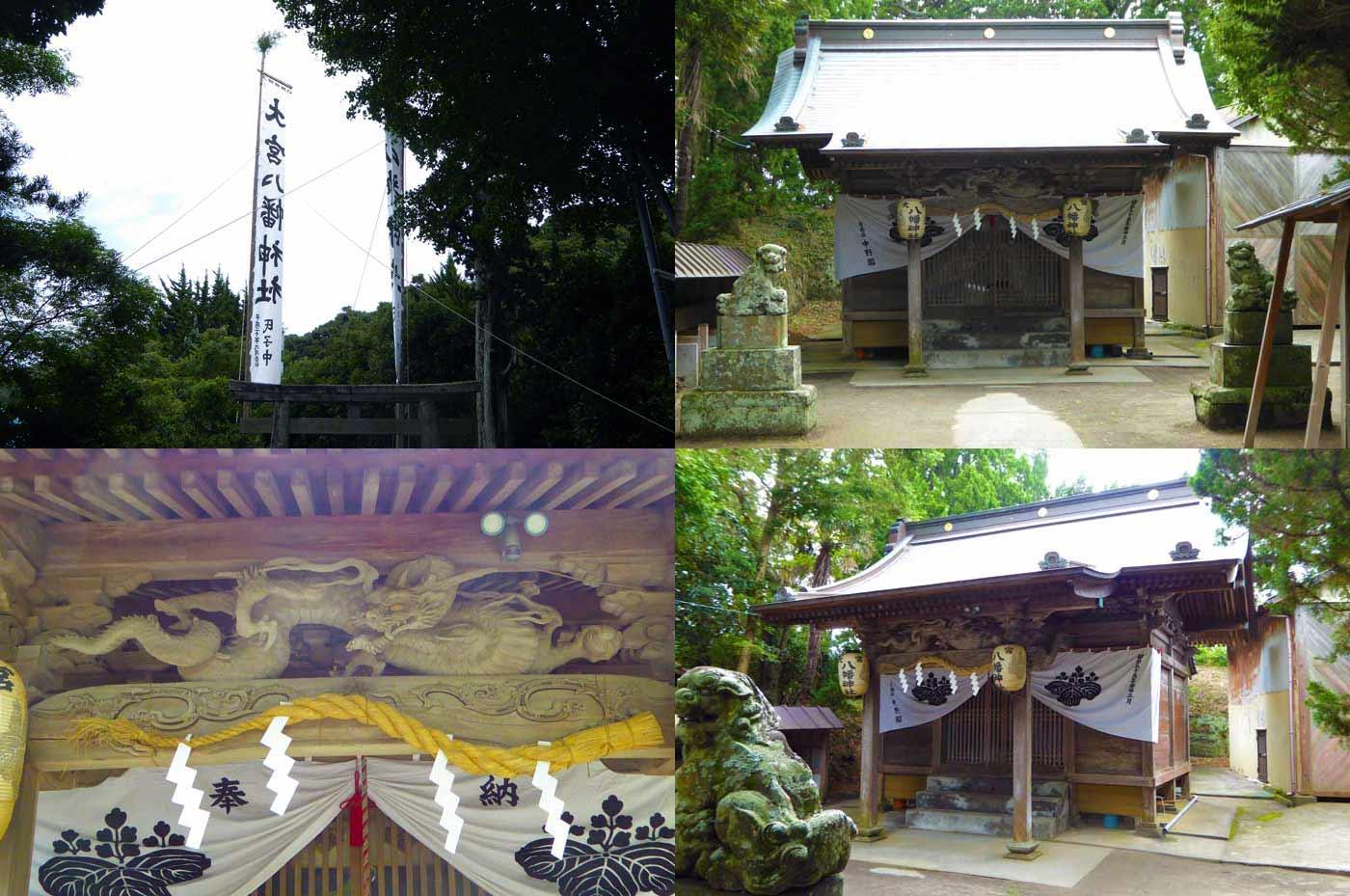 汐入 大宮八幡神社の祭礼の様子